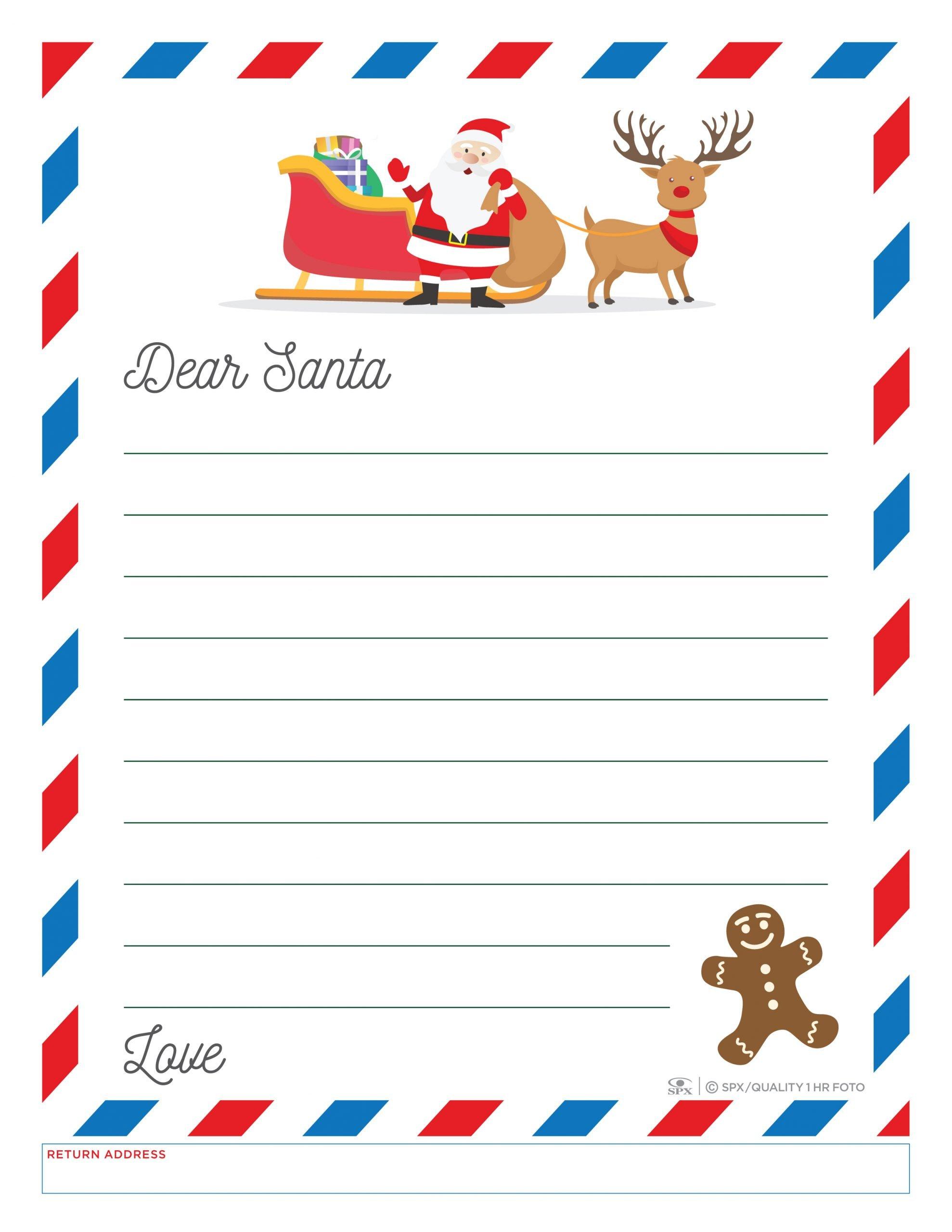 SPX Letter to Santa